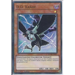 Yu-Gi-Oh! - DUDE-DE027 - D.D. Krähe - 1.Auflage - DE - Ultra Rare