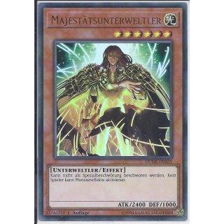 Yu-Gi-Oh! - DUDE-DE035 - Majestätsunterweltler - 1.Auflage - DE - Ultra Rare