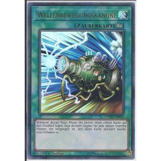 Yu-Gi-Oh! - DUDE-DE039 - Wellenbewegungskanone - 1.Auflage - DE - Ultra Rare