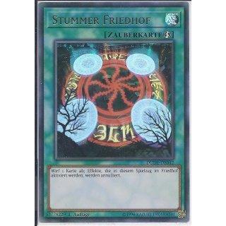Yu-Gi-Oh! - DUDE-DE042 - Stummer Friedhof - 1.Auflage - DE - Ultra Rare