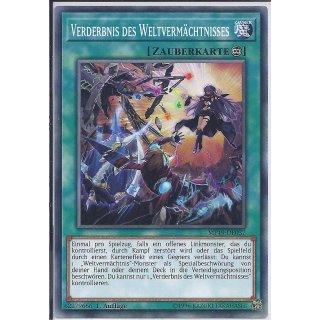 Yu-Gi-Oh! - MP19-DE037 - Verderbnis des Weltvermächtnisses - 1.Auflage - DE - Common