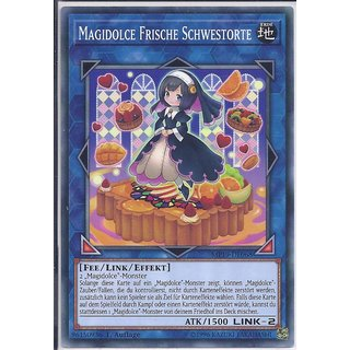 Yu-Gi-Oh! - MP19-DE068 - Magidolce Frische Schwestorte - 1.Auflage - DE - Common