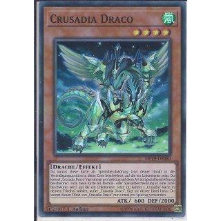 Yu-Gi-Oh! - MP19-DE080 - Crusadia Draco - 1.Auflage - DE - Super Rare