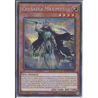 Yu-Gi-Oh! - MP19-DE081 - Crusadia Maximus - 1.Auflage - DE - Prismatic Secret Rare