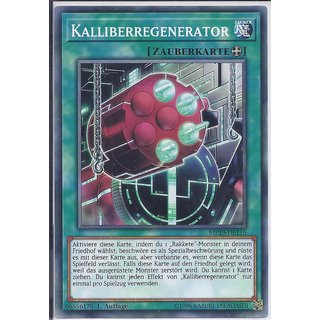 Yu-Gi-Oh! - MP19-DE115 - Kalliberregenerator - 1.Auflage - DE - Common