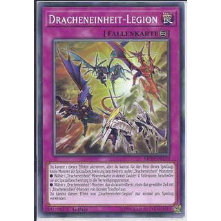 Yu-Gi-Oh! - MP19-DE130 - Dracheneinheit-Legion - 1.Auflage - DE - Common