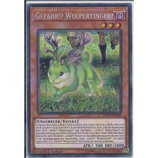Yu-Gi-Oh! - MP19-DE139 - Gefahr!? Wolpertinger? - 1.Auflage - DE - Prismatic Secret Rare