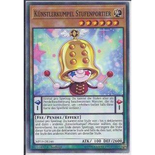 Yu-Gi-Oh! - MP19-DE146 - Künstlerkumpel Stufenportier - 1.Auflage - DE - Common
