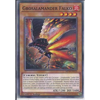 Yu-Gi-Oh! - MP19-DE155 - Grosalamander Falko - 1.Auflage - DE - Common
