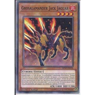 Yu-Gi-Oh! - MP19-DE156 - Grosalamander Jack Jaguar - 1.Auflage - DE - Common