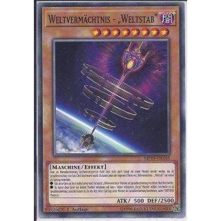 Yu-Gi-Oh! - MP19-DE165 - Weltvermächtnis - Weltstab - 1.Auflage - DE - Common