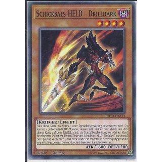 Yu-Gi-Oh! - LEHD-DEA11 - Schicksals-HELD - Drilldark - 1.Auflage - DE - Common