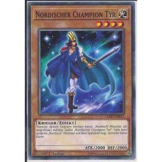 Yu-Gi-Oh! - LEHD-DEB12 - Nordischer Champion Tyr - 1.Auflage - DE - Common