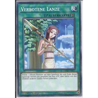 Yu-Gi-Oh! - LEHD-DEB17 - Verbotene Lanze - 1.Auflage - DE - Common