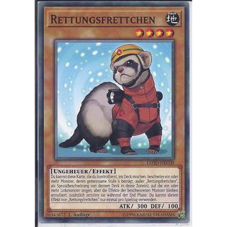 Yu-Gi-Oh! - LEHD-DEC08 - Rettungsfrettchen - 1.Auflage - DE - Common
