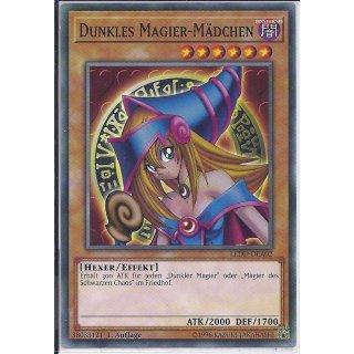 Yu-Gi-Oh! - LEDD-DEA02 - Dunkles Magier-Mädchen - 1.Auflage - DE - Common