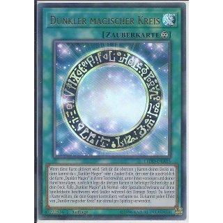 Yu-Gi-Oh! - LEDD-DEA15 - Dunkler magischer Kreis - 1.Auflage - DE - Ultra Rare