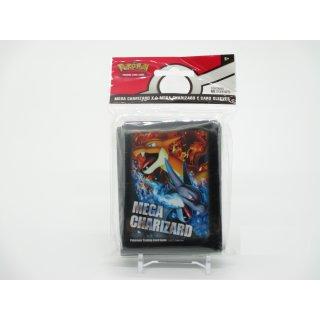65x Pokemon Mega Charizard X & Mega Charizard Y Card Sleeves Karten Hüllen Neu/OVP