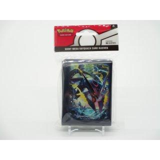 65x Pokemon Shiny Mega Rayquaza Card Sleeves Karten Hüllen Neu/OVP