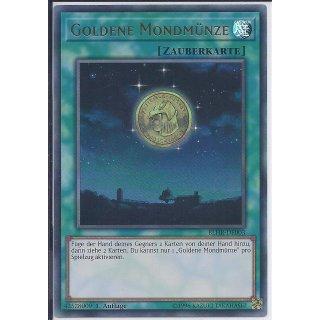 Yu-Gi-Oh! - BLHR-DE003 - Goldene Mondmünze - Deutsch - 1.Auflage - Ultra Rare