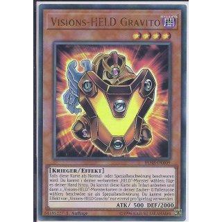 Yu-Gi-Oh! - BLHR-DE009 - Visions-HELD Gravito - Deutsch - 1.Auflage - Ultra Rare