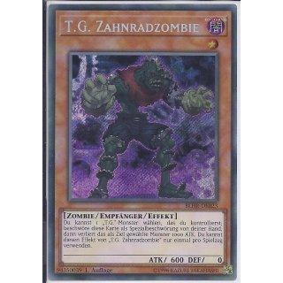 Yu-Gi-Oh! - BLHR-DE023 - T.G. Zahnradzombie - Deutsch - 1.Auflage - Secret Rare