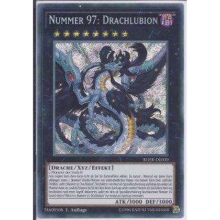 Yu-Gi-Oh! - BLHR-DE030 - Nummer 97: Drachlubion - Deutsch - 1.Auflage - Secret Rare