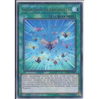 Yu-Gi-Oh! - BLHR-DE040 - Schwarm herbeirufen - Deutsch - 1.Auflage - Ultra Rare
