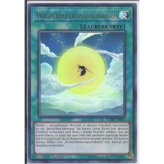Yu-Gi-Oh! - BLHR-DE041 - Wiederbelebungsschwarm - Deutsch - 1.Auflage - Ultra Rare