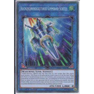 Yu-Gi-Oh! - BLHR-DE050 - Hochgeschwindigkeitsroid Gummiband-Schütze - Deutsch - 1.Auflage - Secret Rare