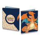 Pokemon Sammelalbum 9 Pocket Portfolio Glurak  für...