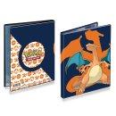 Pokemon Sammelalbum 4 Pocket Portfolio Glurak  für...