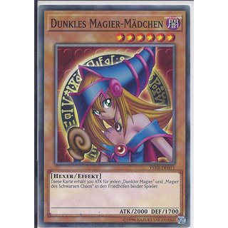 Yu-Gi-Oh! - YSYR-DE011 - Dunkles Magier - Mädchen - Unlimitiert - DE - Common
