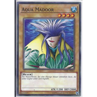 Yu-Gi-Oh! - YSKR-DE002 - Aqua Madoor - Unlimitiert - DE - Common