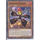 Yu-Gi-Oh! BLVO-DE006 Springans Rockey 1.Auf C