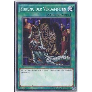 Yu-Gi-Oh! - YSKR-DE030 - Ehrung Der Verdammten - Unlimitiert - DE - Common