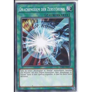 Yu-Gi-Oh! - YSKR-DE036 - Drachenodem Der Zerstörung - Unlimitiert - DE - Common