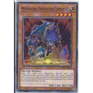 Yu-Gi-Oh! - SR08-DE008 - Mythisches Ungeheuer Cerberus - 1.Auflage - DE - Common