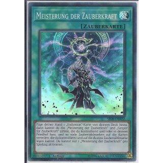 Yu-Gi-Oh! - SR08-DE022 - Meisterung Der Zauberkraft - 1.Auflage - DE - Super Rare