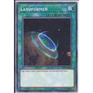 Yu-Gi-Oh! - SR08-DE032 - Landformen - 1.Auflage - DE - Common