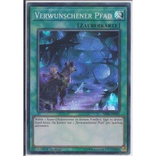 Yu-Gi-Oh! - SR08-DE041 - Verwunschender Pfad - 1.Auflage - DE - Super Rare
