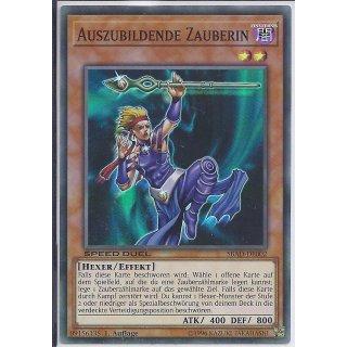Yu-Gi-Oh! - SBAD-DE002 - Auszubildende Zauberin - 1.Auflage - DE - Super Rare