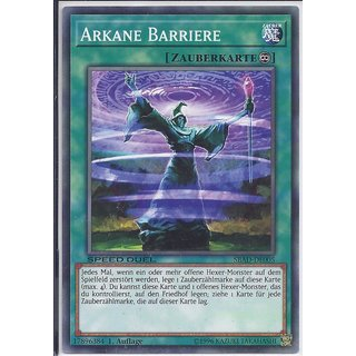 Yu-Gi-Oh! - SBAD-DE005 - Arkane Barriere - 1.Auflage - DE - Common