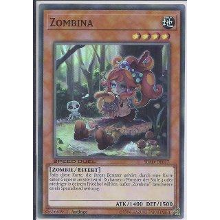 Yu-Gi-Oh! - SBAD-DE017 - Zombina - 1.Auflage - DE - Super Rare