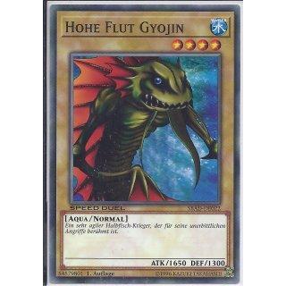 Yu-Gi-Oh! - SBAD-DE022 - Hohe Flut Gyojin - 1.Auflage - DE - Common