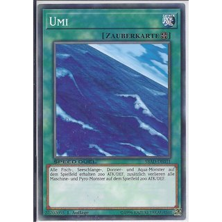 Yu-Gi-Oh! - SBAD-DE031 - Umi - 1.Auflage - DE - Common