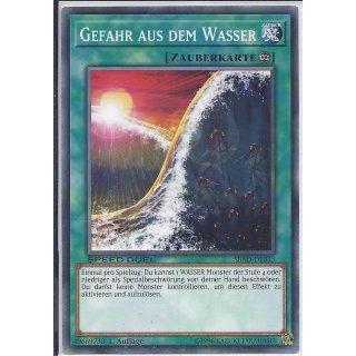Yu-Gi-Oh! - SBAD-DE033 - Gefahr Aus Dem Wasser - 1.Auflage - DE - Common