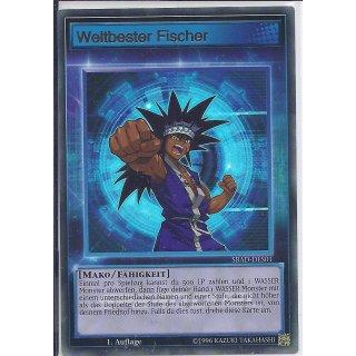 Yu-Gi-Oh! - SBAD-DES01 - Weltbester Fischer - 1.Auflage - DE - Ultra Rare